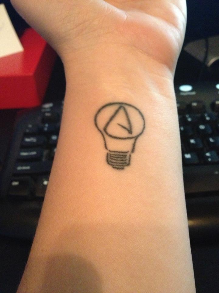 The thinking Atheist, but I want mine illuminated with UV ink, I think!