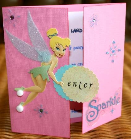 32 best Card Tinkerbell Ideas images – Tinkerbell Birthday Card