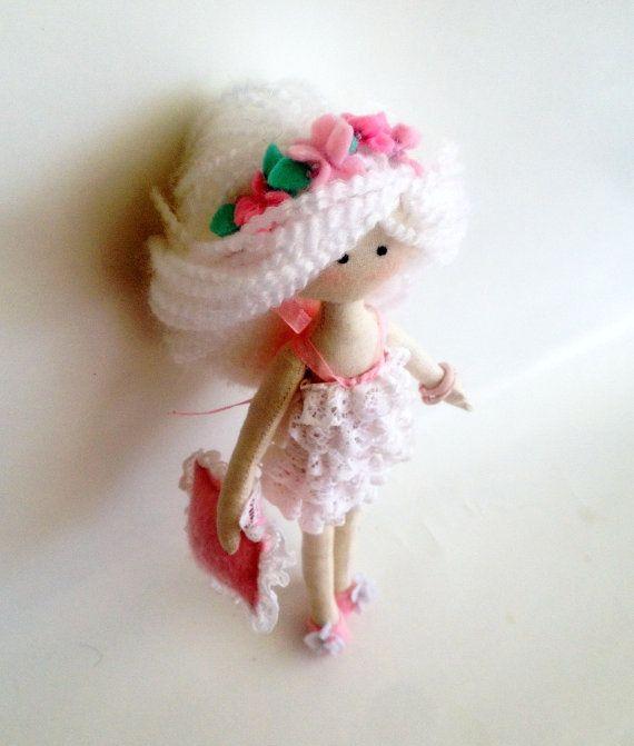 Virgo – Textile Interior Handmade Doll – Zodiac Dolls Collection