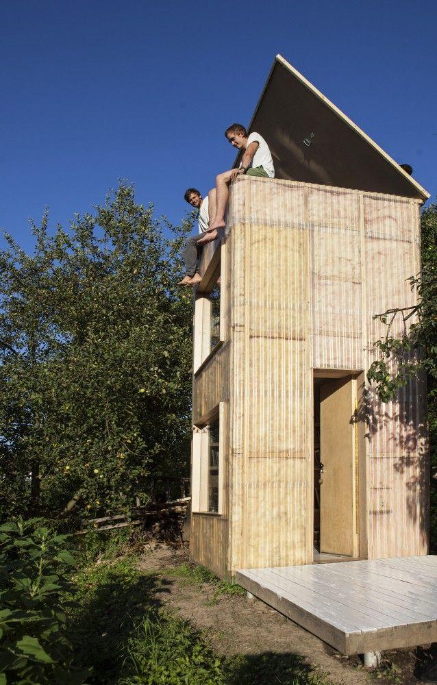 Garden library + observatory / Mjölk architekti