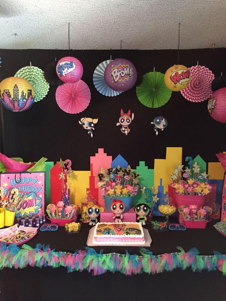 Powerpuff Girls Party! Penelope's Birthday! *Etsy account coming soon*