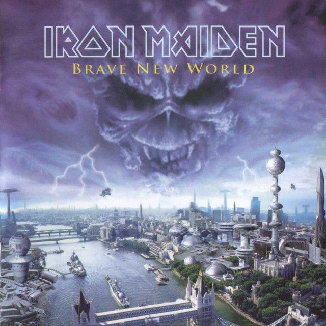 """""""Blood Brothers"""" by Iron Maiden was added to my Discover Weekly playlist on Spotify"""