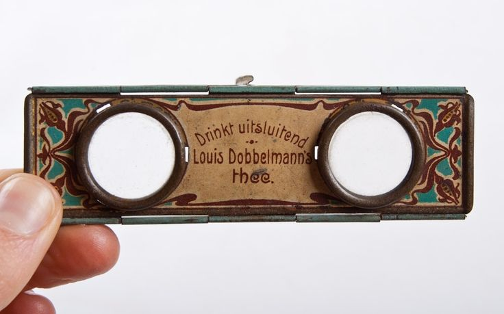 stollwerck stereoscopic viewer tin - Google Search