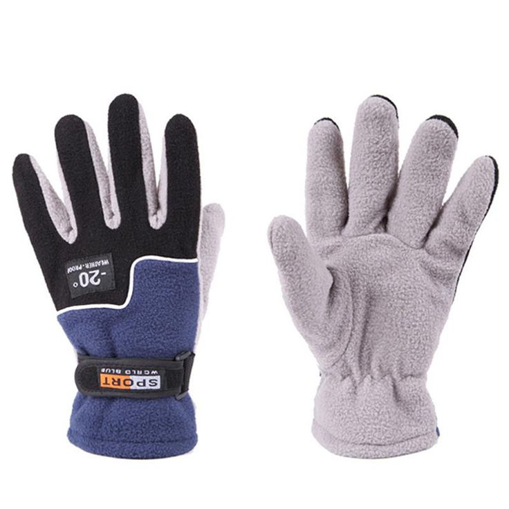 Cycling Gloves Winter Warm Full Finger Sports Riding Motorcycle Ski Snow Snowboard Gloves guantes ciclismo