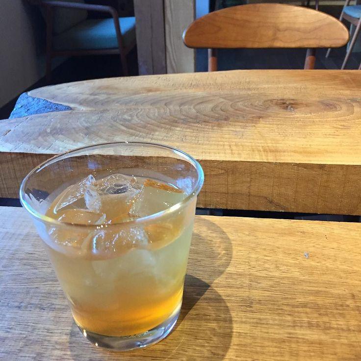 Orange(Sudachi) enzyme juice; it tastes sweet & bitter. すだち酵素ジュース #すだち #徳島県 #神山町 #week神山
