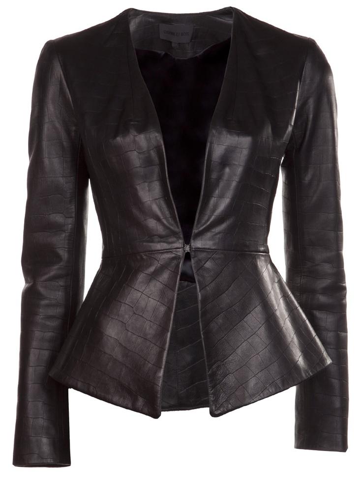 Cushnie Et Ochs Flared Jacket - Elizabeth Charles - Farfetch.com