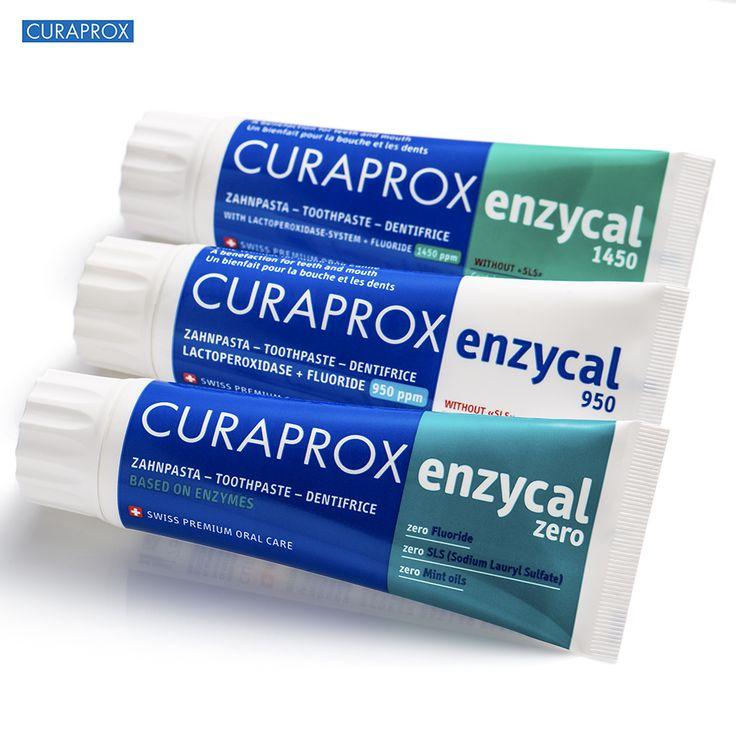 Os cremes dentais Enzycal possuem um mecanismo de ação denominado sistema Lactoperoxidase, que potencializa a ação antibacteriana, antifúngica e antiviral da saliva. Estimulam o fluxo salivar e potencializam o efeito protetor da saliva, através da utilização de enzimas lácteas. Assim, eles conseguem manter o balanço e o equilíbrio da cavidade oral, através de um processo mais natural.