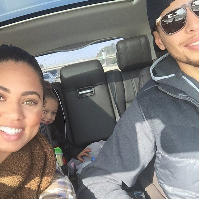 Pictures of Stephen Curry's Family and Daughter Riley   POPSUGAR Celebrity
