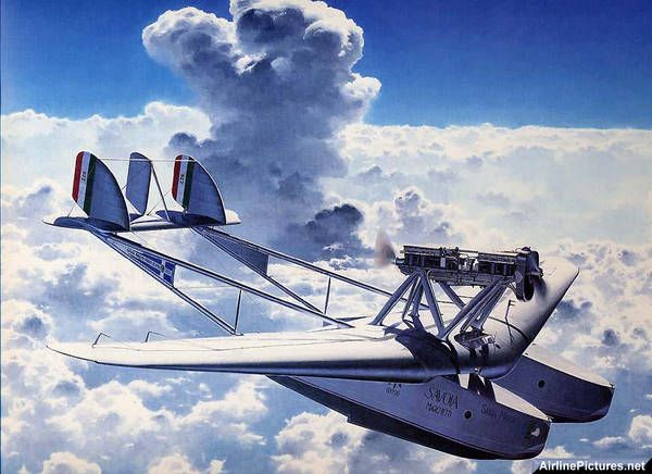 Savoia Marchetti S55 State of the art,back in the day! These planes were making trans-Atlantic crossing before Lindberg.