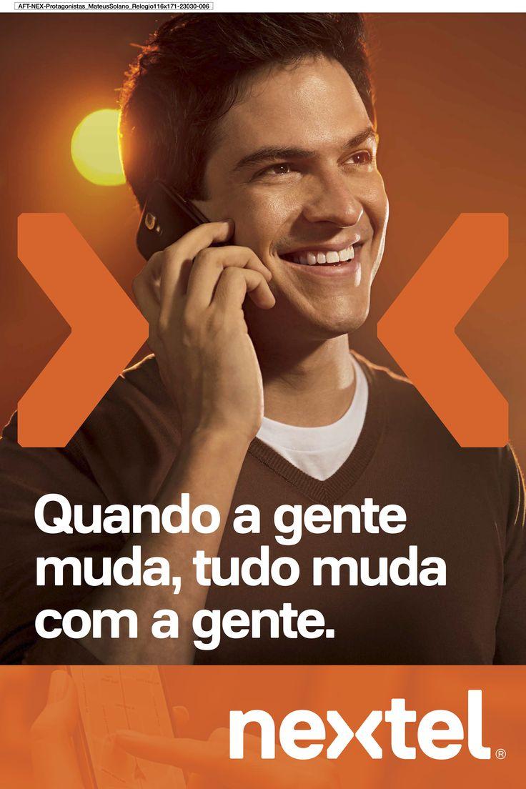 Mateus Solano Campanha Nextel 2014 Agência Loducca