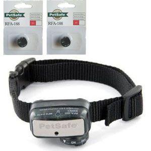 PetSafe PBC00-12726 Deluxe Little Dog Bark Control + Free 2 x RFA-188 Batteries