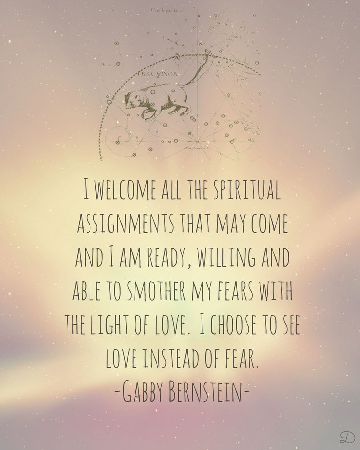 gabrielle bernstein, a course in miracles affirmation