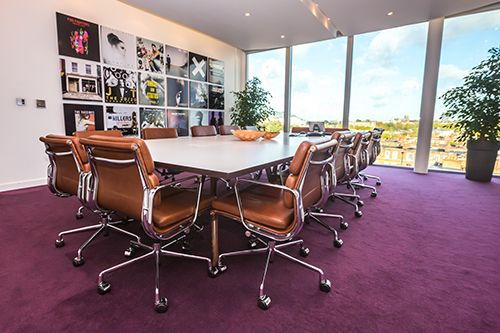 Boadroom universal music group london by trifle creative office interiors workspace - Universal music group office ...