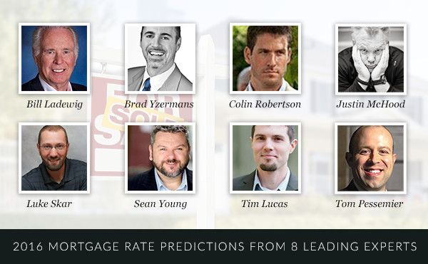 8 Experts' 2016 Mortgage Rate Predictions and Trends