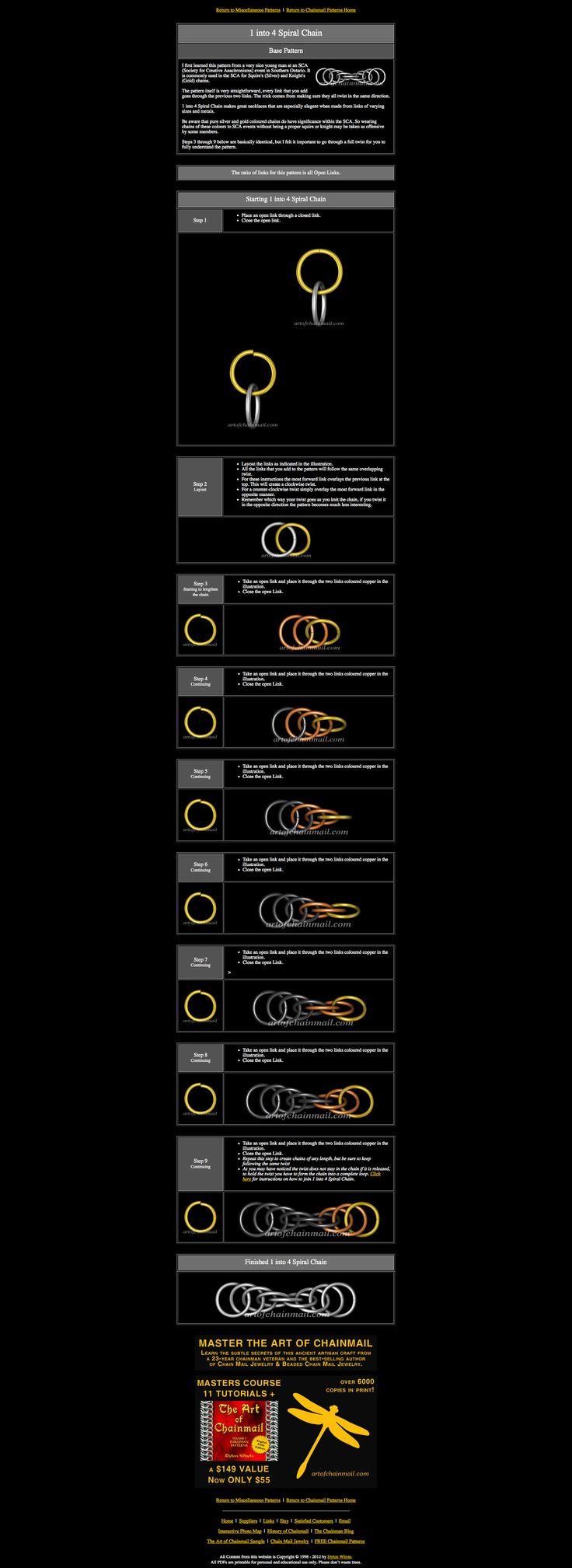 spiral chain