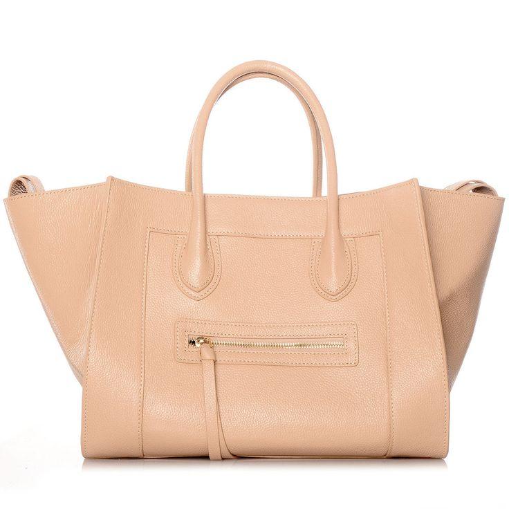 ♥T8♥ ROUVEN Blush Puder Nude MAYDLEN CHYC Tote Bag Leder Tasche Handtasche