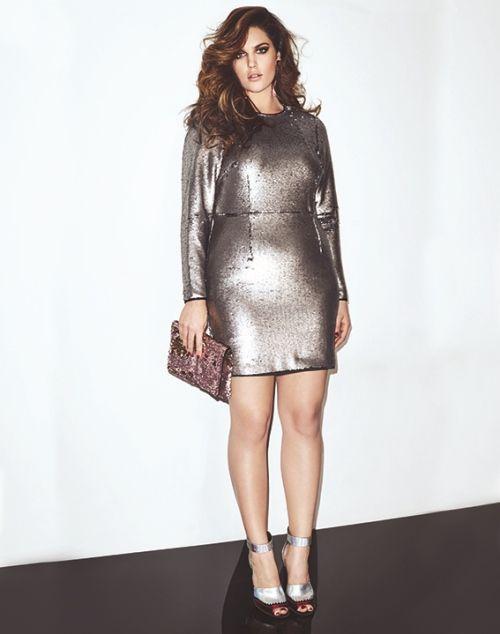 Size 10 Model Ali Cutler in Look Magazine | Skinny VS Curvy