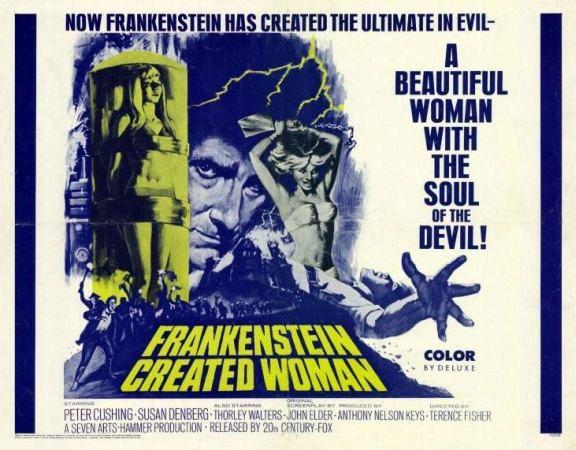 Frankenstein Created Woman Poster 65 best Monsters - Ham...