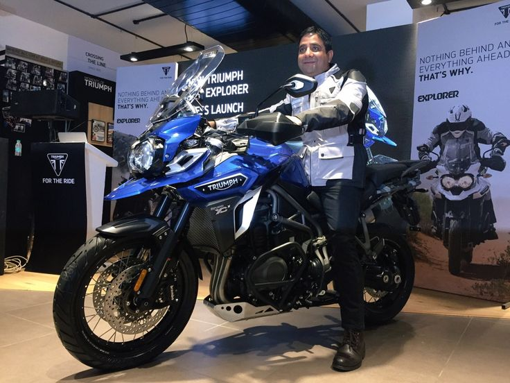 2017 Triumph Tiger Explorer launched, but just one variant for India