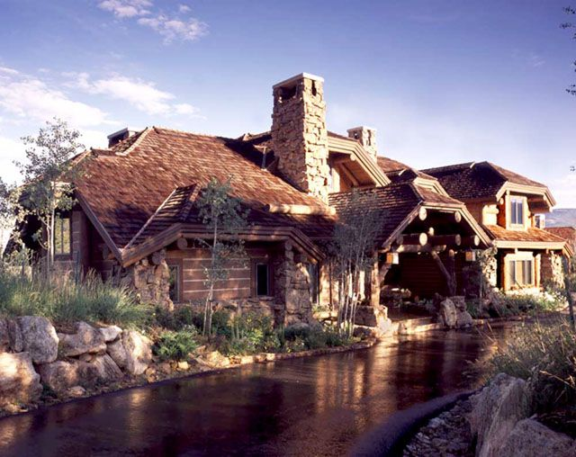 61 best adirondack houses images on pinterest for the for Adirondack lake house plans