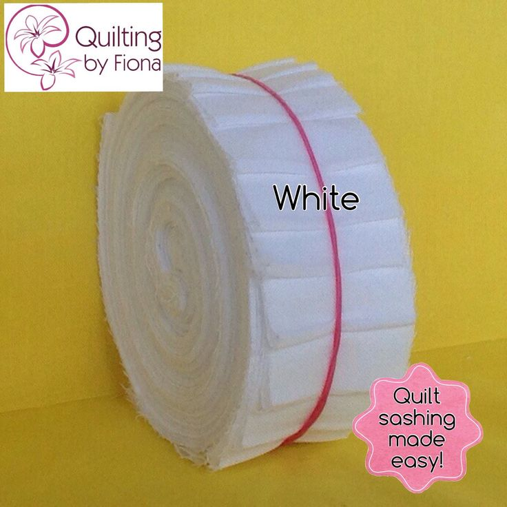 A personal favourite from my Etsy shop https://www.etsy.com/listing/227983163/20-white-precut-honey-bun-fabric-strips