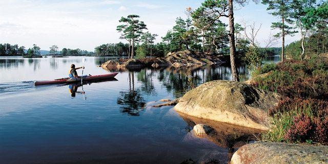 By canoe in Glaskogen | Glaskogens Naturreservat