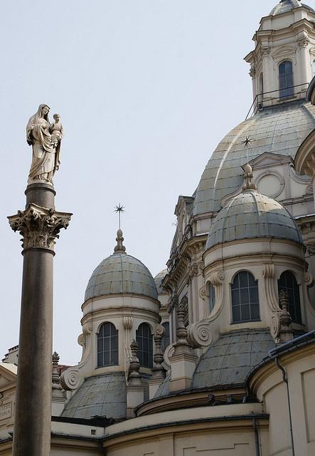 Torino, Piazza della Consolata, Santuario di Maria Consolatrice #chiese