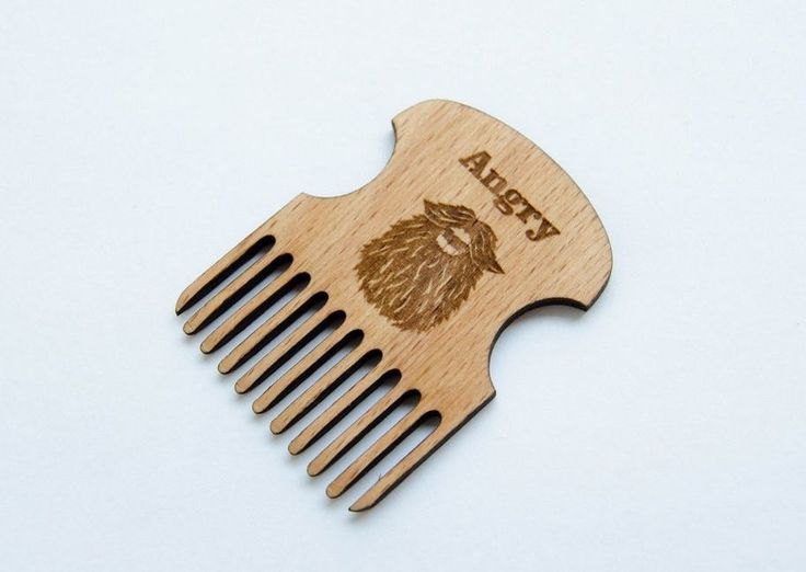 Beard Comb stylish men gift Lumberjack style