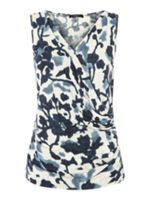 Kids school break for Easter - ﭢ Top - Weekend MaxMara Eolie Sleeveless Tie-Dye Top