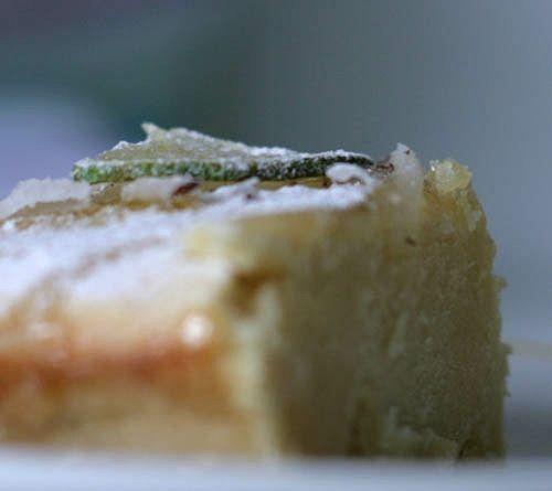 Чадейка - Кокосовый пирог с лаймом