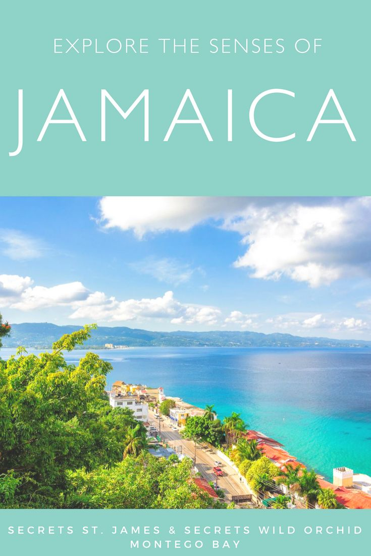 Jamaica is trimmed in long sandy beaches and crystal-clear Caribbean waters. Beyond the sand, the land has soul-stirring beauty with lush forest along misty mountain peaks and hidden waterfalls. An array of smoky, fresh and tropical flavors are to be discovered. You'll find yourself swaying to the soothing, rhythmic music the country is famous for. Friendly smiles and open arms will welcome you under the warm island sun.  Jamaica is a treat for all the senses!