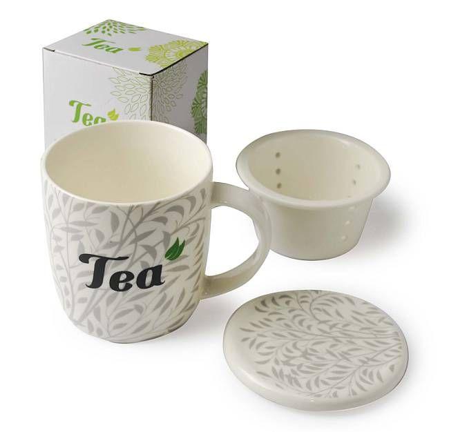 Keramický hrnek Tea se sítkem