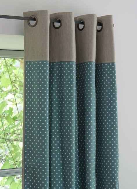 les 25 meilleures id es de la cat gorie rideau bleu canard sur pinterest rideaux bleus salon. Black Bedroom Furniture Sets. Home Design Ideas