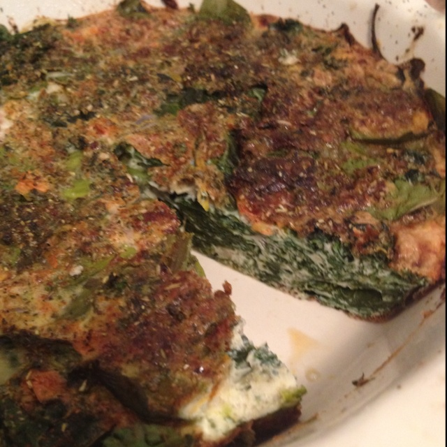 Crustless Kale Quiche Recipe — Dishmaps