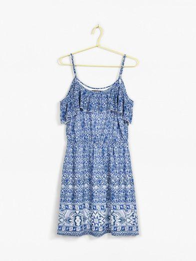 Allie dress | 7166486 | Sininen | BikBok | Suomi