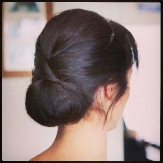 Soft structured bridesmaid hair #hair #wedding #traditional #bridalparty #styledbymia