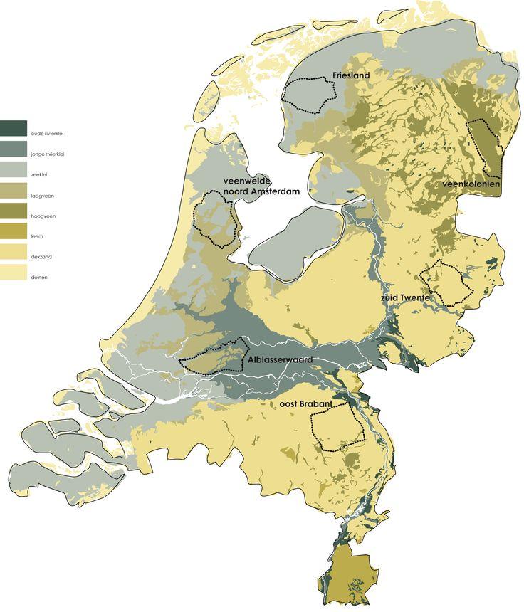 Ontwerpend onderzoek naar de invloed van het Gemeenschappelijke Landbouw Beleid van de Europese Unie op het Nederlandse landschap. Hier afgebeeld de percelen die voor 5% 'vergroend' zullen worden. Agrarisch ondernemers kunnen hier bijdragen aan een impuls aan het landschap. # Inge Vleemingh