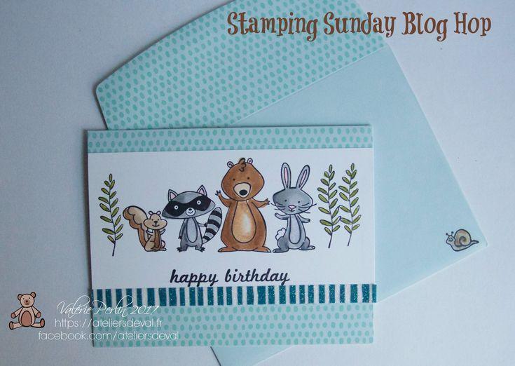 Stamping Sunday Blog hop spécial Stampin'Blends