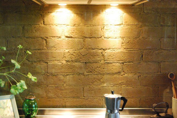 Sichtmauerwerk mit Lehmsteinen