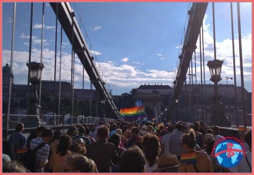 This is why I went to Budapest Pride this year  #pride #gaypride #LGBTQ #Budapest
