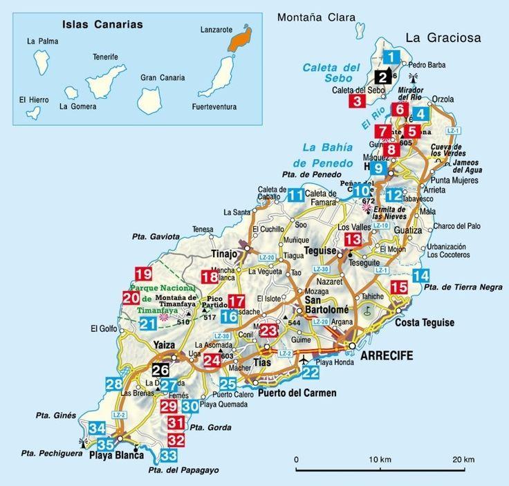 wandelen & fietsen Lanzarote