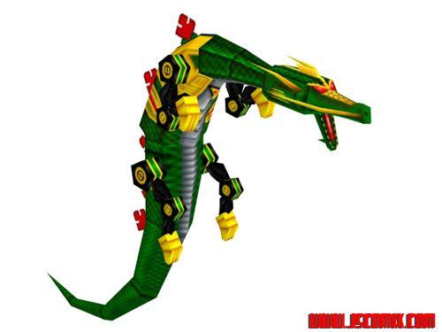 Power Rangers Super Legends DS: Serpentera by JSComix