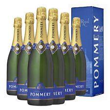 6 Bottiglie di Champagne Pommery Brut 75cl (con astuccio)