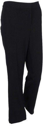 Calvin Klein Women's Straight Leg Trouser Pants (4, Black)