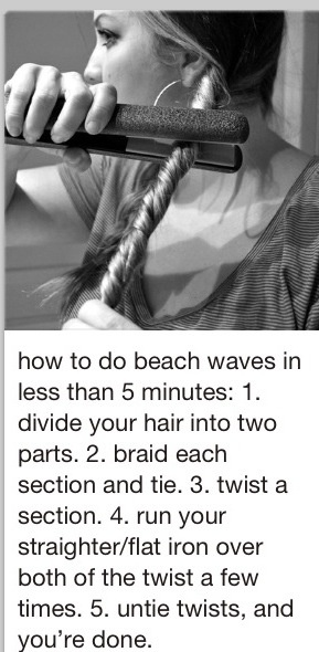 Beach Waves Hair...going to try this one!