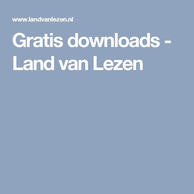 Gratis downloads - Land van Lezen