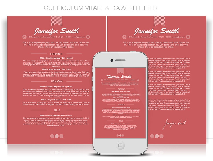 Editable Graphic Design Cv Templates By Cvspecial  Curriculum