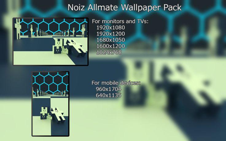 Noiz Allmate Wallpaper Pack by NAkos.deviantart.com on @DeviantArt