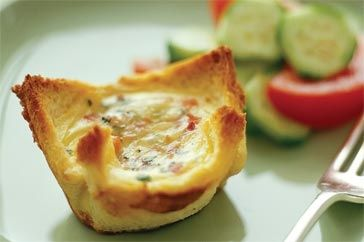 Everyone will enjoy these quick kid-sized quiches.