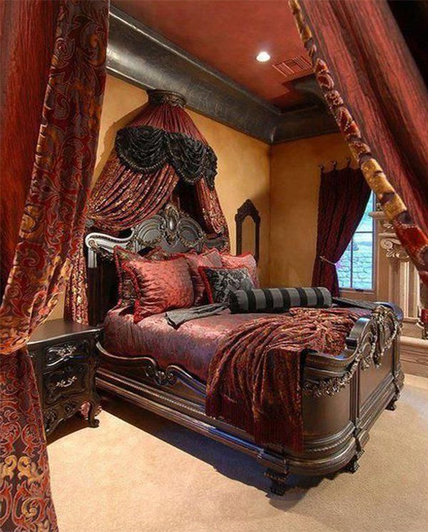 96 best bedroom design images on pinterest bedroom for Victorian style master bedroom
